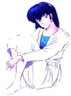 manga,  Maison Ikkoku, Kyoko Otonashi,